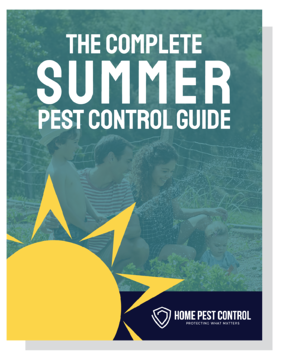 Summer Pest Guide Cover with shadow