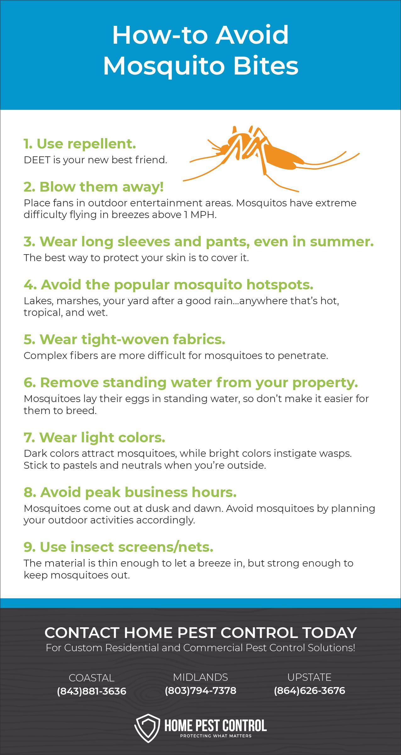 Avoid Mosquitoes