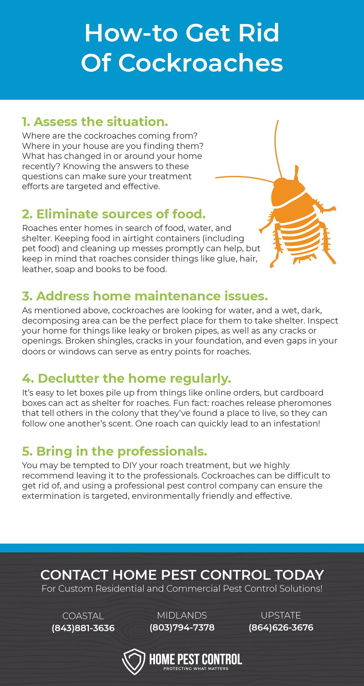 Prevent Cockroaches